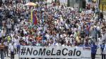 Venezuela retorna a las calles para exigir revocatorio a Maduro - Noticias de jesus resucitado