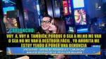 "'Carloncho' a Rosángela: ""A mí no me van a destruir fácil"" - Noticias de jazmin pinedo"