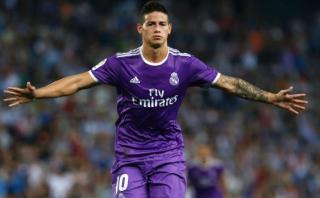 """James Rodríguez tras gol: """"Tengo el apoyo del entrenador"""""""