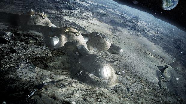 La idea de crear una aldea lunar tiene respuestas positivas