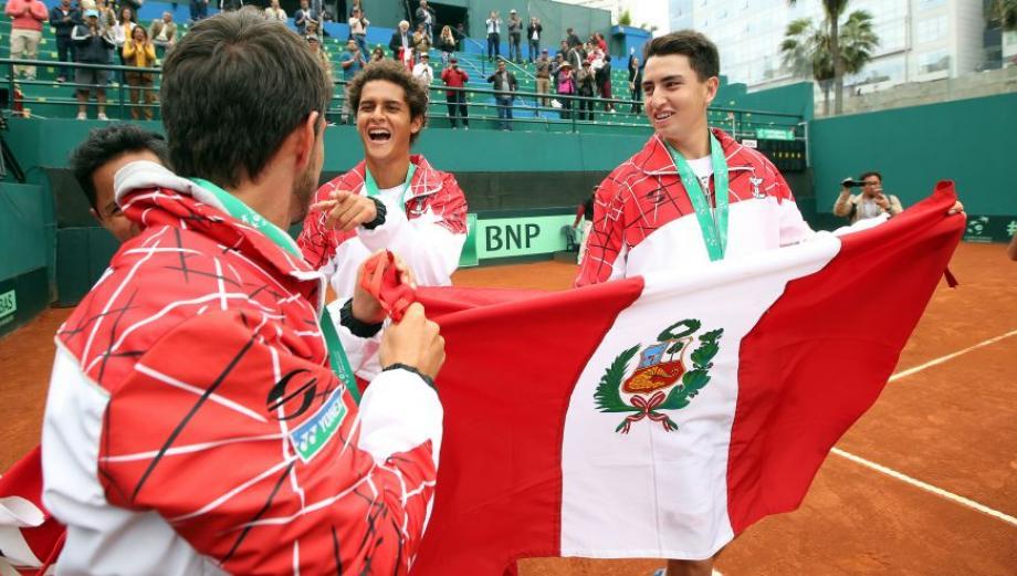 Copa Davis: las postales del triunfo de Perú ante Venezuela