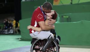 Juegos Paralímpicos: la imagen romántica que dejó el certamen
