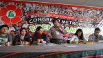 Congreso metropolitano de Frente Amplio reconoce rol de Mendoza - Noticias de miembros de mesa