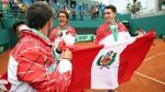 Copa Davis: las postales del triunfo de Perú ante Venezuela - Noticias de mauricio echazu