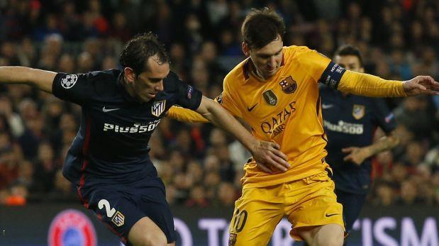 Barcelona y Atlético empatan y Messi sale lesionado