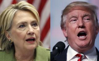 Clinton y Trump compiten por reuniones con líderes mundiales
