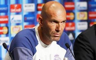 "Zinedine Zidane: ""Me molesta que solo me pregunten por James"""