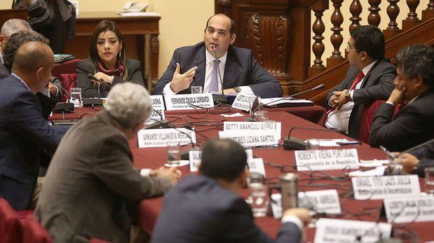 Fernando Zavala: Ministros han absuelto dudas sobre facultades
