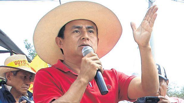 JNE notifica a Gregorio Santos para que recoja sus credenciales