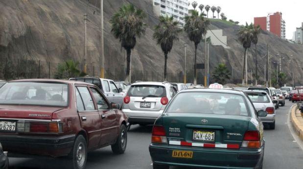 Miraflores: accidente causó congestión vehicular en Costa Verde