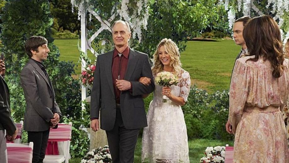 """""""The Big Bang Theory"""": la boda de Leonard y Penny en fotos"""