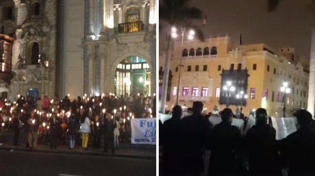 Plaza de Armas: ¿Lima puede prohibir o no las manifestaciones?