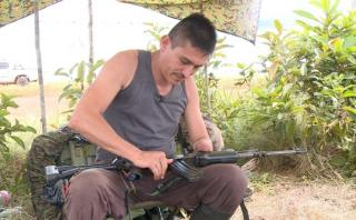 'Luis', manco por una bomba, apuesta por la paz de Colombia