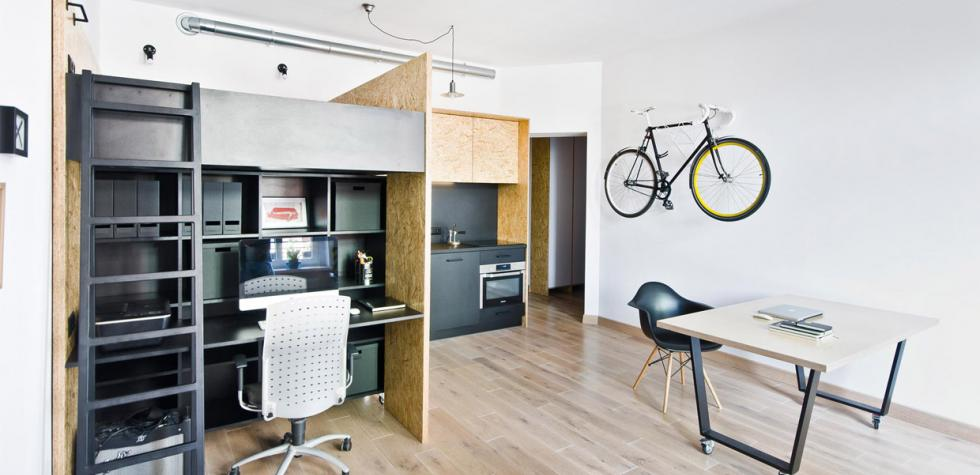 Esta vivienda se convierte en una oficina