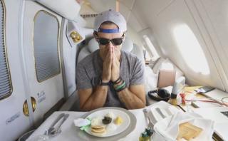 ¿Cómo es viajar en primera clase con boleto de US$21.000?
