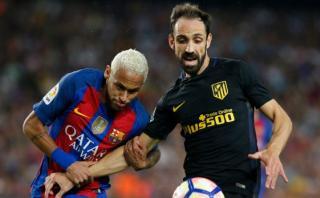 Barcelona y Atlético de Madrid empataron 1-1 en el Camp Nou