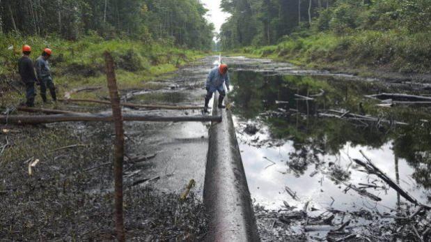 Petro-Perú inició limpieza tras derrame de crudo en Loreto