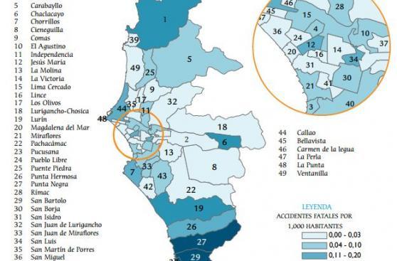 Exceso de velocidad, la principal causa de accidentes en Lima