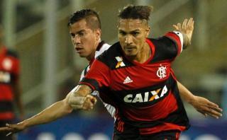 Flamengo, con Paolo Guerrero, derrotó 1-0 a Palestino en Chile