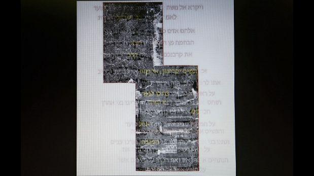 Pergamino revela uno de los primeros textos de la Biblia