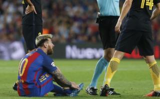 Lionel Messi estará tres semanas de baja y no estará ante Perú
