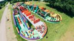 Atrévete a retar a La Bestia, el inflable más extremo del mundo - Noticias de hyde park