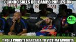 Lionel Messi: los mejores memes tras su lesión - Noticias de #niunsolmenos
