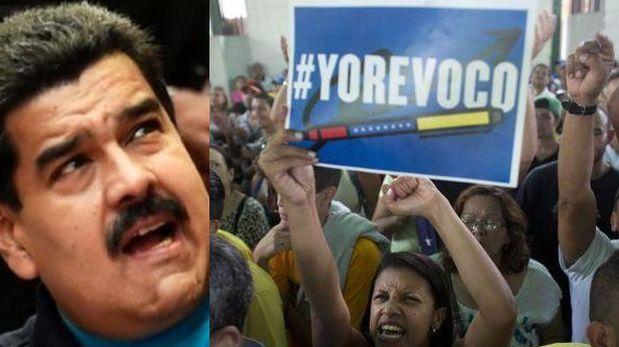 El chavismo desahucia el revocatorio — Venezuela