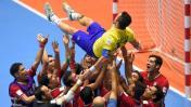 El emotivo homenaje de Irán a Falcao en el Mundial de Futsal