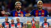 Fútbol peruano: copiaron 'look' de Messi y Neymar en Copa Perú