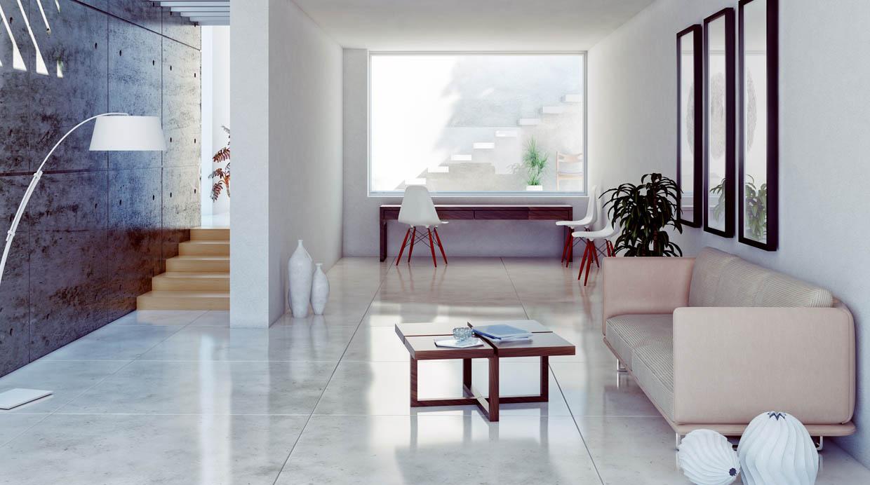 Dale brillo a tus pisos de cer mica con estos tips casa Como colocar ceramica en pared