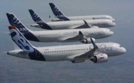 4 Airbus hacen un increíble vuelo sincronizado [VIDEO]