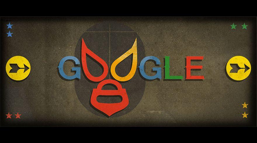 El Santo protagoniza el doodle de Google