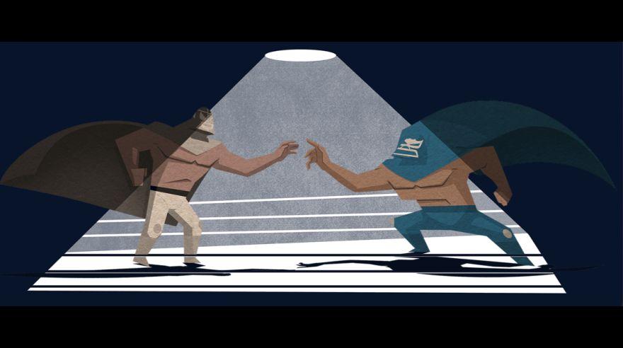 Google honra al luchador El Santo con 'doodle' e historieta