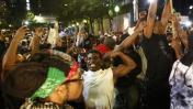 Cientos marcharon en Charlotte pese a toque de queda [VIDEOS]
