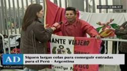 Perú vs. Argentina: incidentes en 2do día de venta de entradas