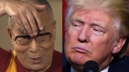 Dalai Lama se burla del cabello y la boca de Trump [VIDEO]