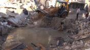 Siria: Continúan los intensos bombardeos sobre Alepo [VIDEO]