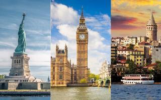 Los 10 destinos más populares en lo que va del año