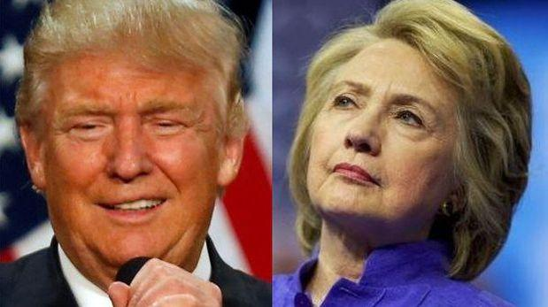 Clinton acusa a Trump de incitar a la violencia