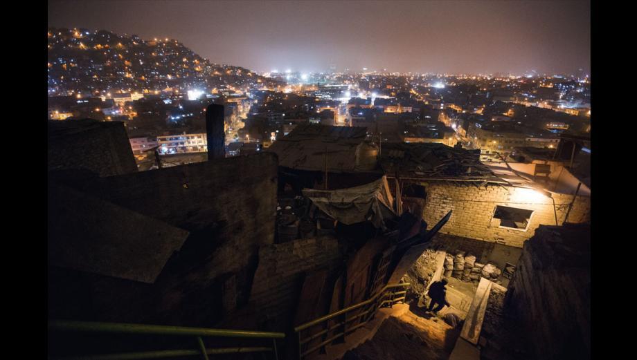 El cerro San Cosme: así se ve 70 años después
