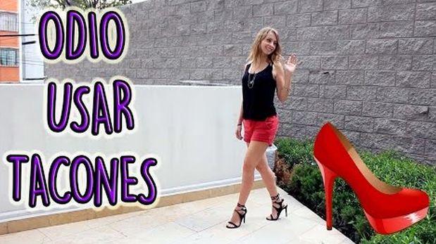 Razones por las que algunas chicas odian usar zapatos de tacón