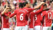 Manchester United goleó 4-1 al Leicester City con gol de Pogba