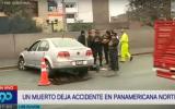 Independencia: Un hombre murió en choque en Panamericana Norte