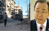 """Alepo: La indignación de Ban en un """"día negro"""" de bombardeos"""