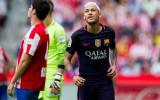 Neymar y su gran gesto con aficionado del Sporting Gijón