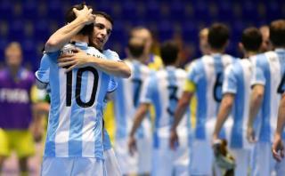 Argentina ganó a Egipto y pasó a semis del Mundial de Futsal