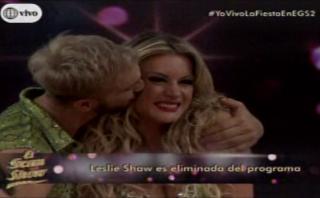 """""""El gran show"""": Leslie perdió, pero sigue en competencia"""