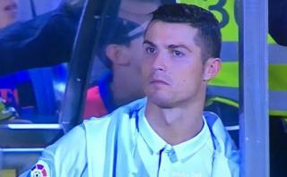 Cristiano Ronaldo recibió apoyo de su madre tras ser sustituido