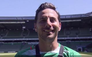Claudio Pizarro bromeó sobre valoración en videojuego FIFA 17
